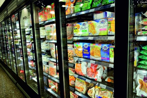 kältetechnik kühregal supermarkt